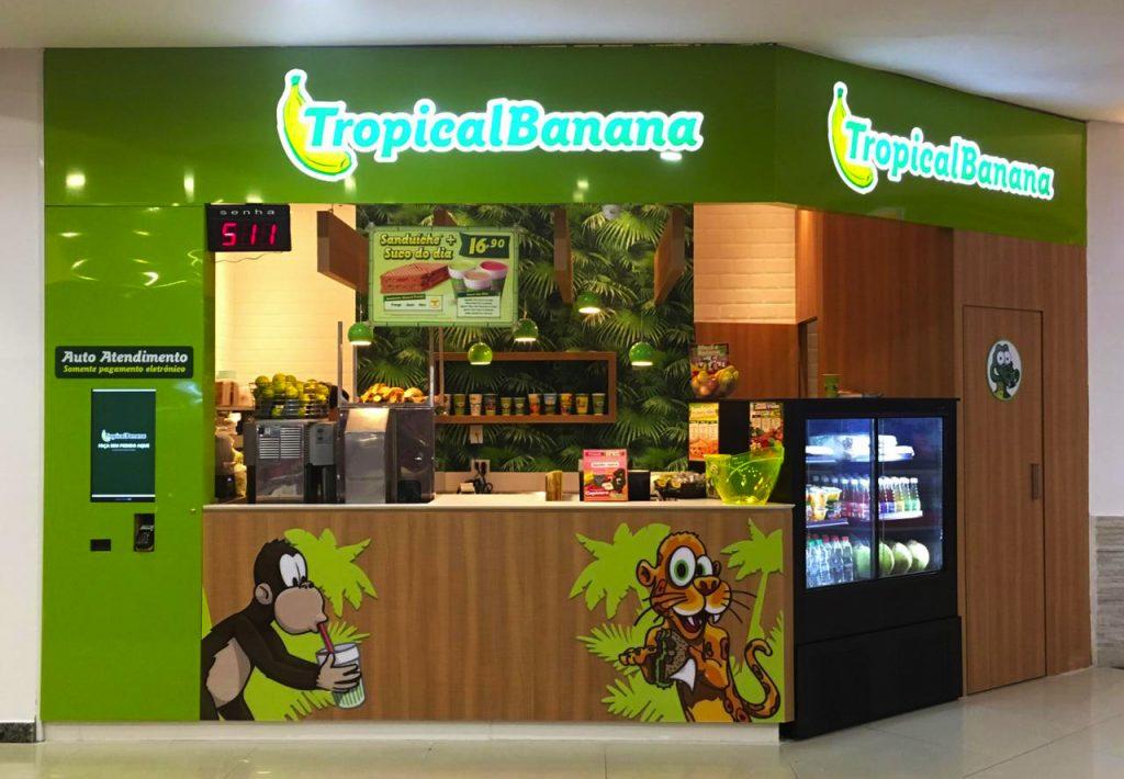 Tropical Banana Ventura Shopping Curitiba