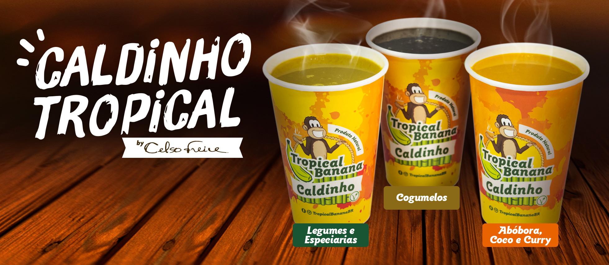 caldinho tropical banana celso freire Curitiba